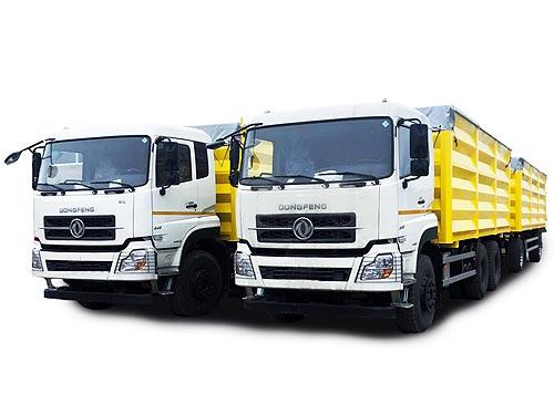 В Украине выпустили доступный зерновоз объемом 65 куб. м на новом шасси Dongfeng Trucks