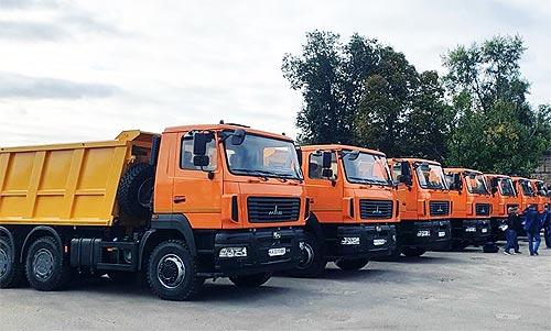 Украина стала рынком №3 по продажам для МАЗа