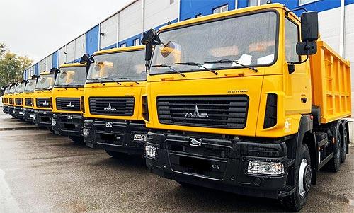В Украине продлили программу «нулевого» лизинга на самосвалы МАЗ