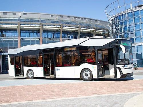 МАЗ выпустил свой первый электробус