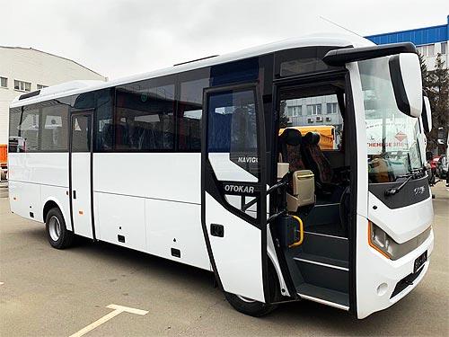 В Украине презентовали новый автобус Otokar Navigo T - Otokar
