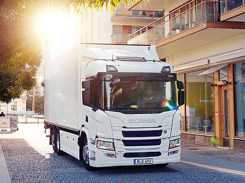 Scania представила полностью электрический грузовик с запасом хода до 250 км