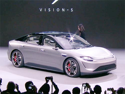Sony представила свой первый концепт электрокара Vision-S