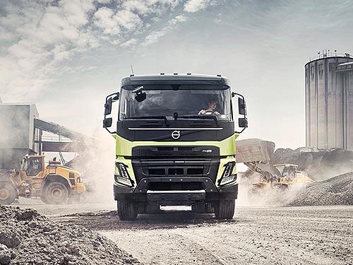 Volvo Trucks выпустил новый Volvo FMX для строительной отрасли - Volvo