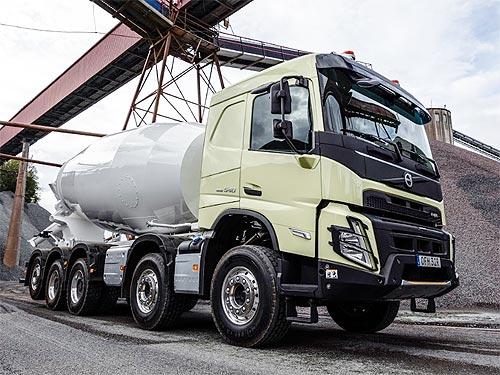 Volvo Trucks выпустил новый Volvo FMX для строительной отрасли