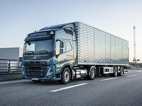 Volvo Trucks представляет новое поколение Volvo FH и FM с газовыми двигателями