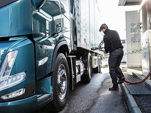 Volvo Trucks представляет новое поколение Volvo FH и FM с газовыми двигателями - Volvo