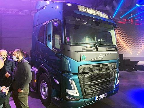 В Украине дебютировала новое поколение грузовиков Volvo FH, FM и FMX - Volvo