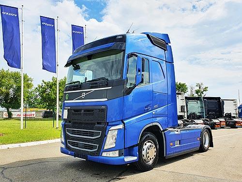 На грузовики Volvo Trucks с пробегом со склада действуют спеццены