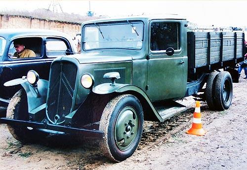 Какие трофейные автомобили были на службе в Красной Армии во время Второй мировой войны - трофей