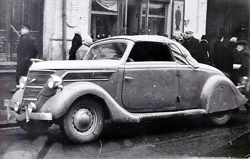 Какие трофейные иномарки ездили на улицах Киева. Редкие фото - трофей