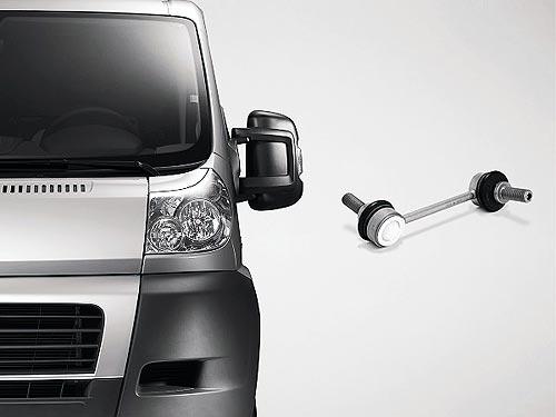 ZF Aftermarket предлагает детали подвески для многих типов легкого коммерческого транспорта