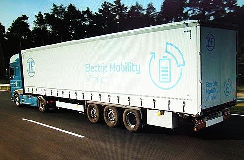 ZF представляет новые модульные системы электропривода