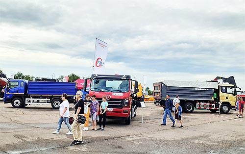 На выставке в Черкассах завод «Альфатекс» покажет 3 самосвала и топливозаправщик