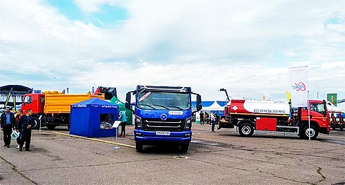 На выставке в Черкассах завод «Альфатекс» покажет 3 самосвала и топливозаправщик - Альфатекс