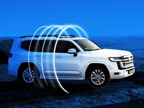 Для нового Toyota Land Cruiser 300 уже доступна специальная система безопасности Benish GPS - Benish