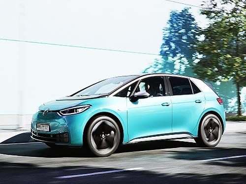 Новая модель Volkswagen ID.3 E оснащается продвинутыми технологиями Continental