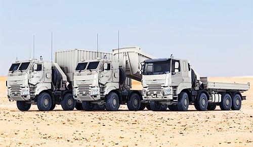 DAF получил крупнейший заказ от вооруженных сил Бельгии