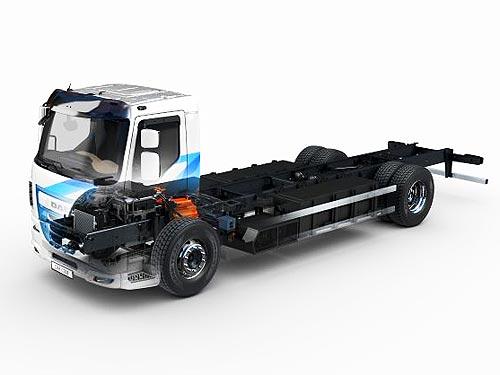 Представлен электрический DAF LF Electric с запасом хода до 280 км - DAF