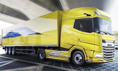DAF представил новое поколение грузовиков - DAF