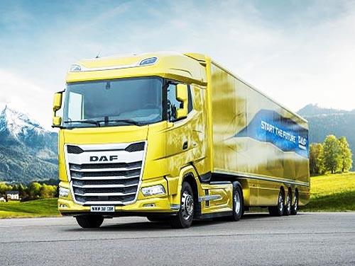 DAF уже получил более 1000 заказов на грузовики нового поколения XF, XG и XG+ - DAF