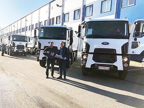Самосвалы Ford Trucks будут строить дороги в Полтавской области - Ford