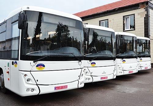 Оператор ГТС Украины получил партию автобусов МАЗ 231062 - МАЗ