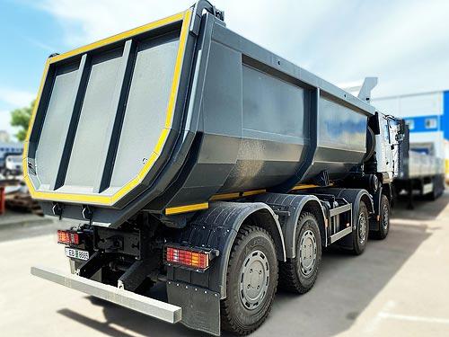 МАЗ в Украине предлагает 30-ти тонные самосвалы в лизинг под 2% годовых - МАЗ
