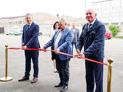 Генеральный директор МАЗа посетил Украину и открыл предприятие в Броварах