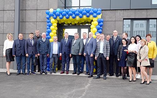 Генеральный директор МАЗа посетил Украину и открыл предприятие в Броварах - МАЗ