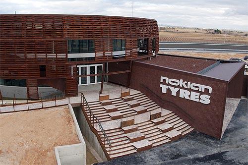 Nokian Tyres начала тестировать шины в новом испытательном центре в Испании - Nokian