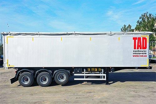 В Киеве представили алюминиевые зерновозы TAD украинского производства - TAD