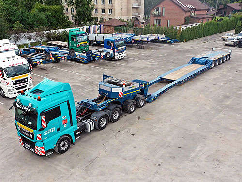 В Украине выпустили 70-тонный полуприцеп - TAD