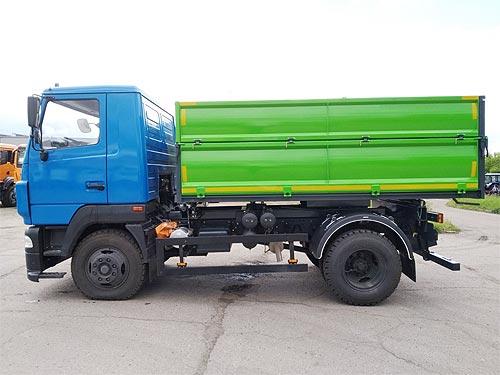 В Украине выпустили самосвал с увеличенной грузоподъемностью на шасси МАЗ - МАЗ