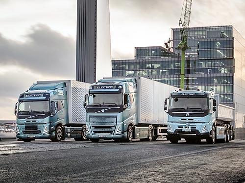 В чем особенности новых крупнотоннажных электрогрузовиков Volvo FH, FM и FMX