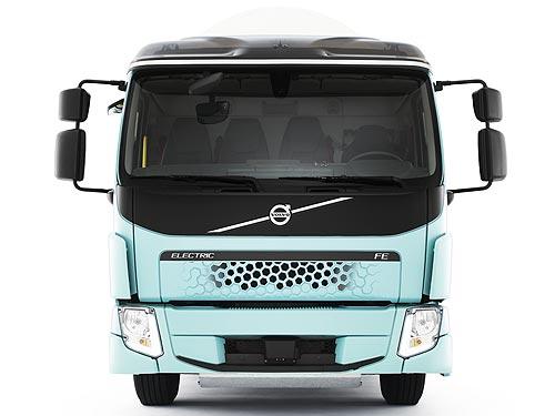 Сеть супермаркетов в Швеции начала эксплуатацию полностью электрического грузовика Volvo FE Electric - Volvo
