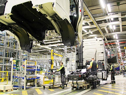 Стартовало серийное производство нового поколения грузовиков Volvo FH, FH16, FM и FMX - Volvo