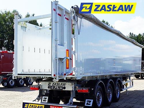 В Украину начались поставки обновленных моделей полуприцепов ZASLAW - ZASLAW