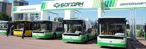 «Богдан» в честь 20-летия дарит всем бесплатный проезд - Богдан