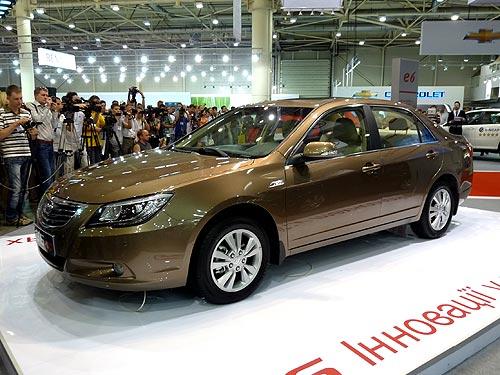 До конца года в Украине стартуют продажи новейшего бизнес-седана BYD G6 - BYD