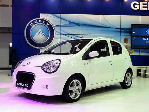Geely представила в Украине сразу 6 новых моделей - Geely