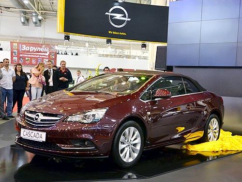 В Украине начали принимать заказы на всесезонный кабриолет Opel Cascada - Opel