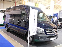 Обновленный Mercedes-Benz Sprinter доступен в Украине - Mercedes-Benz
