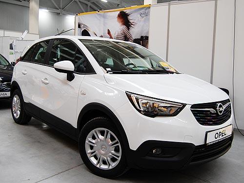 В Украине засветился компактный кроссовер Opel Crossland Х - Opel