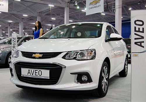 Стали известны цены на обновленный Chevrolet Aveo