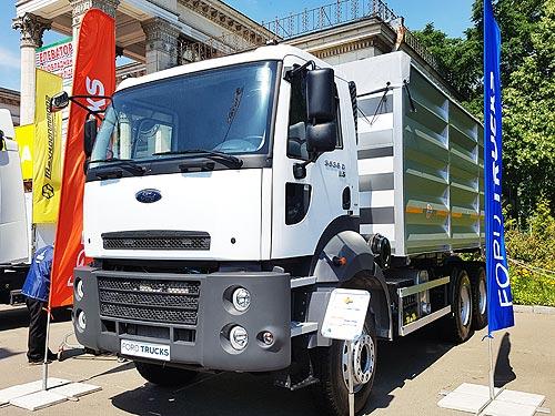 Ford Trucks предоставил технику для украинских аграриев на сезон 2017 - Ford
