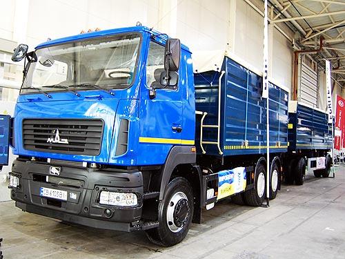 МАЗ сделал ставку на спецтехнику украинского производства - МАЗ