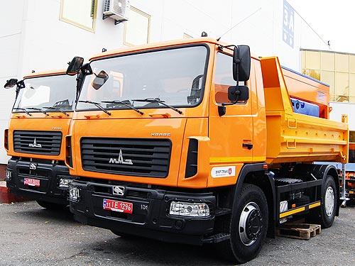Украинский рынок грузовиков в ноябре начал замедляться - грузовиков