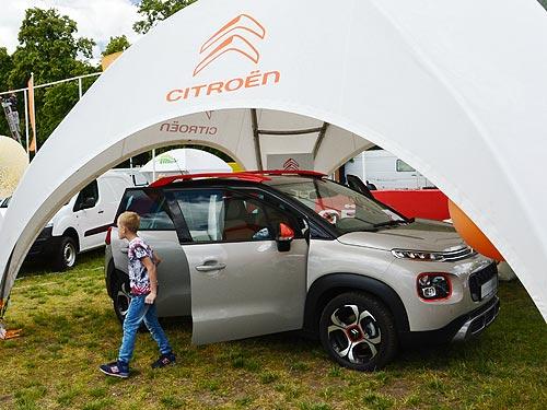 Citroen представил на агровыставке модельный ряд от кроссовера до фургонов - Citroen