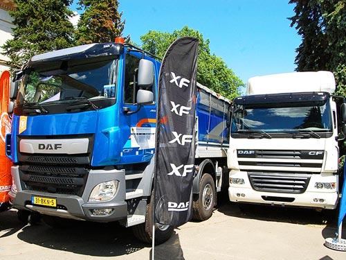 DAF вывел на украинский рынок новую спецверсию тягача CF